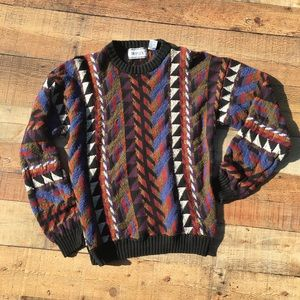 DUPLEX designs VTG Sweater sz Medium